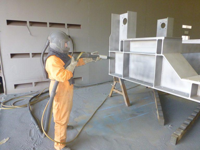 Sand Blasting - Abrasive Blasting - Industrial Spray Painting - Industrial Coatings - Gold Coast
